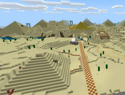 The First Educational Passover Themed Minecraft Game